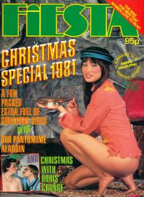 Front cover of Fiesta Christmas Special 1981 magazine