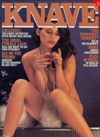 Front cover of Knave Volume 12 No 12 magazine