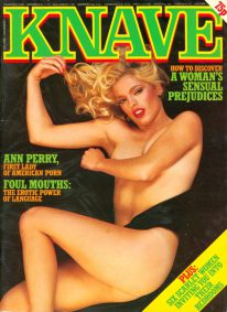 Front cover of Knave Volume 13 No 3 magazine
