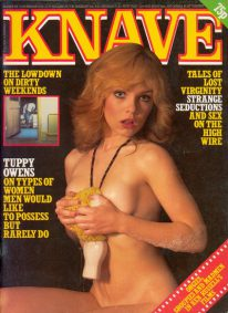 Front cover of Knave Volume 13 No 4 magazine