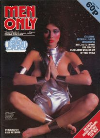 Front cover of Men Only Volume 43 No 4 magazine