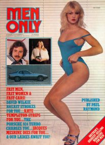 Front cover of Men Only Volume 45 No 6 magazine