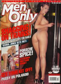 Front cover of Men Only Volume 64 No 10 magazine
