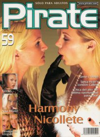 Front cover of Pirate 59 magazine
