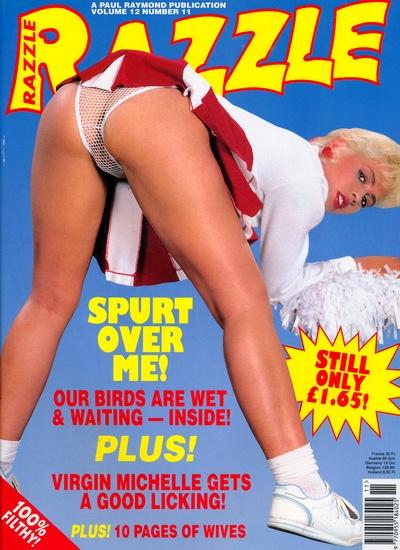 Front cover of Razzle Volume 12 No 11 magazine