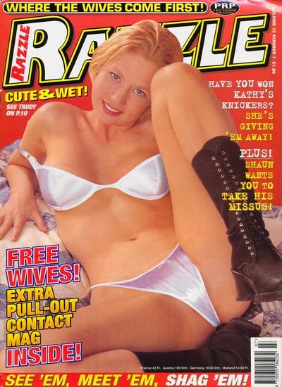 Front cover of Razzle Volume 15 No 7 magazine