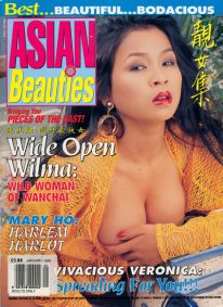 Front cover of Asian Beauties Volume 3 Number 1 magazine