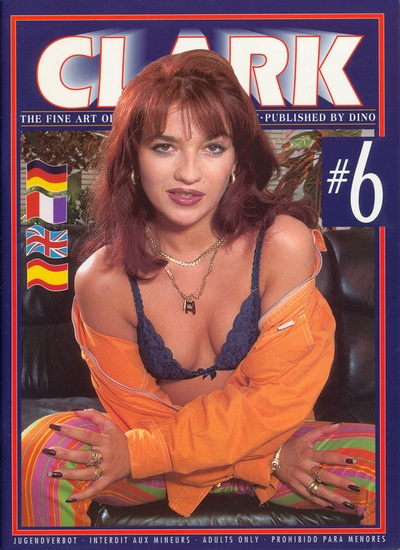 Front cover of Clark No 6 magazine