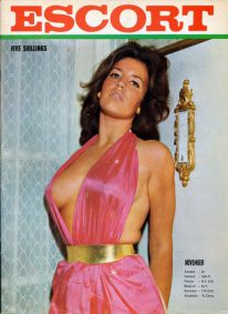 Front cover of Escort November 1960s magazine
