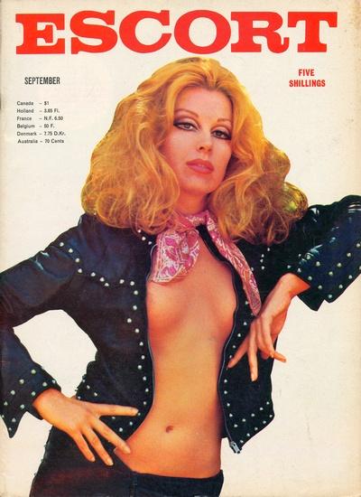 Front cover of Escort September 1960s magazine