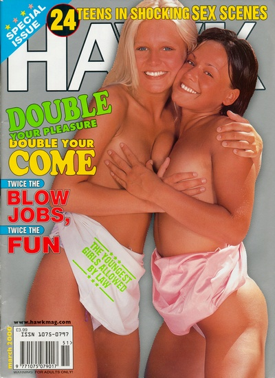 Front cover of Hawk March 2000 magazine