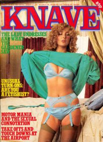 Front cover of Knave Volume 13 No 7 magazine