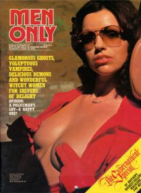 Front cover of Men Only Volume 42 No 10 magazine