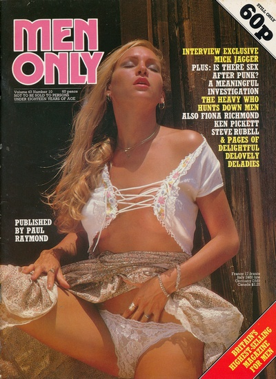 Front cover of Men Only Volume 43 No 10 magazine