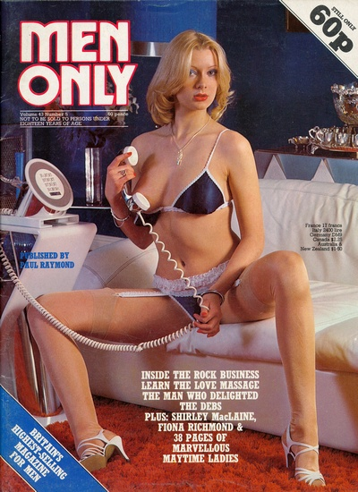 Front cover of Men Only Volume 43 No 5 magazine