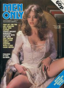 Front cover of Men Only Volume 43 No 8 magazine
