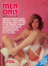 Front cover of Men Only Volume 45 No 2 magazine