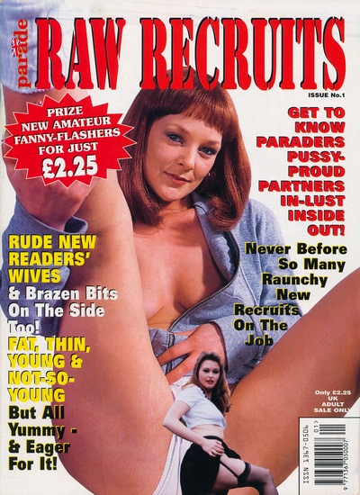 Front cover or New Raw Recruits Issue 1 magazine