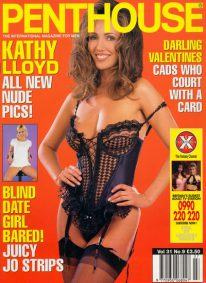 Front cover of Penthouse Volume 31 No 9 magazine