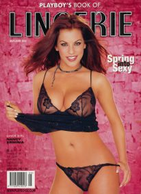 Front cover of Playboy's Book of Lingerie May/June 2002 magazine