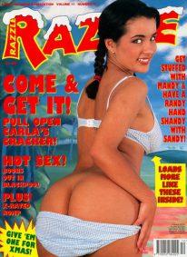 Front cover of Razzle Volume 11 No 12 magazine