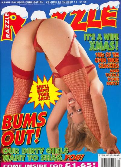 Front cover of Razzle Volume 13 No 12 magazine
