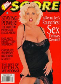 Front cover of Score October 1998 magazine