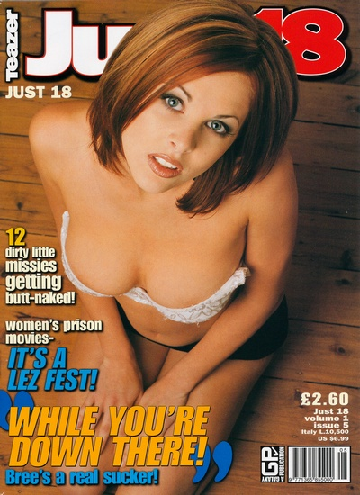 Front cover of Teazer Just 18 Vol 1 No 5 magazine