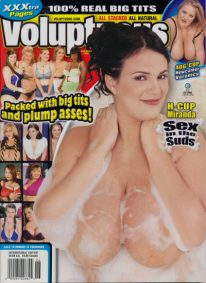 Front cover of Voluptuous Holiday 2007 magazine