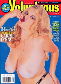 Front cover of Voluptuous September 1998 magazine