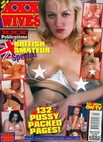 Front cover of XXX Wives Volume 2 No 3 magazine