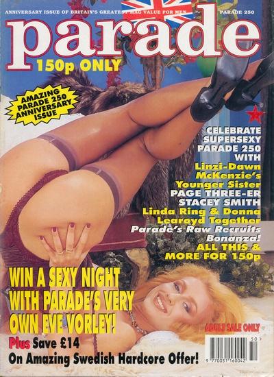 Front cover of Parade No 250 magazine