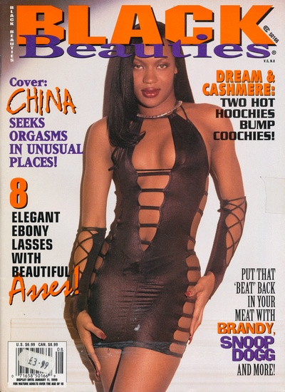 Front cover of Black Beauties Volume 5 No 8 magazine