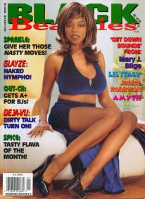 Front cover of Black Beauties Volume 7 No 1 magazine