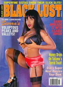 Front cover of Black Lust Issue 77 magazine
