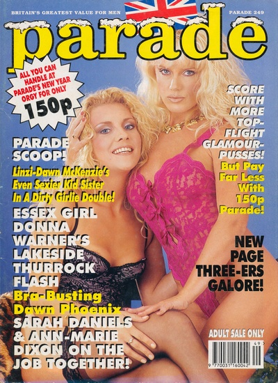 Front cover of Parade 249 magazine