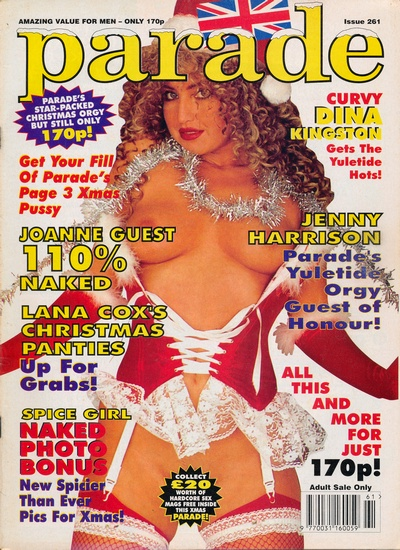 Front cover of Parade 261 magazine