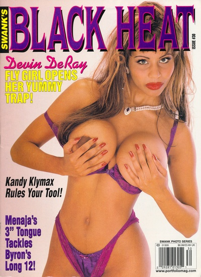 Front cover of Black Heat Issue 30 magazine