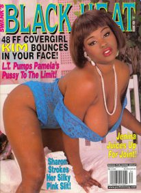 Front cover of Black Heat Issue 34 magazine