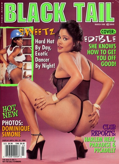 Front cover of Black Tail March 1998 magazine