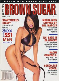 Front cover of Brown Sugar April 1999 magazine