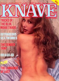 Front cover of Knave Volume 14 No 8 magazine