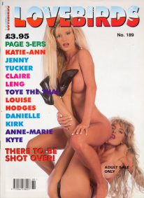 Front cover of Lovebirds No 189 magazine