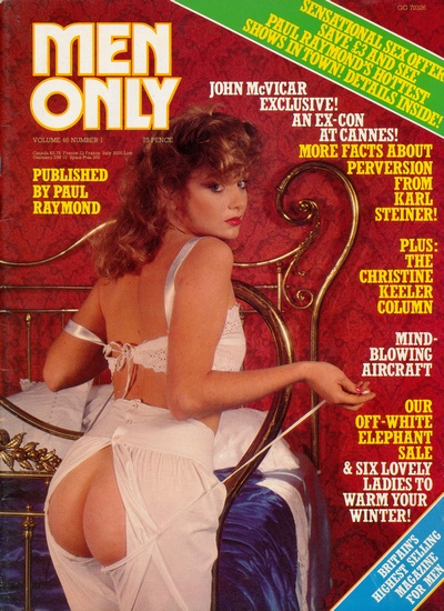 Front cover of Men Only Volume 46 No 1 magazine