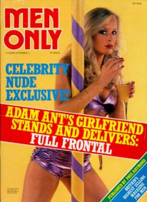 Front cover of Men Only Volume 46 No 11 magazine