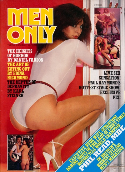 Front cover of Men Only Volume 46 No 7 magazine