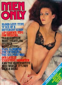 Front cover of Men Only Volume 47 No 1 magazine