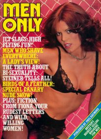 Front cover of Men Only Volume 47 No 2 magazine