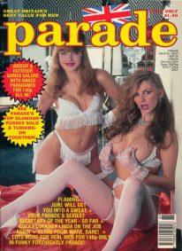 Front cover of Parade 185 magazine