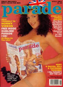 Front cover of Parade 199 magazine